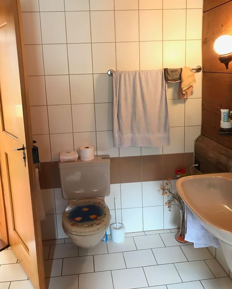 Altes WC vor Umbau Gyger Küchen GmbH