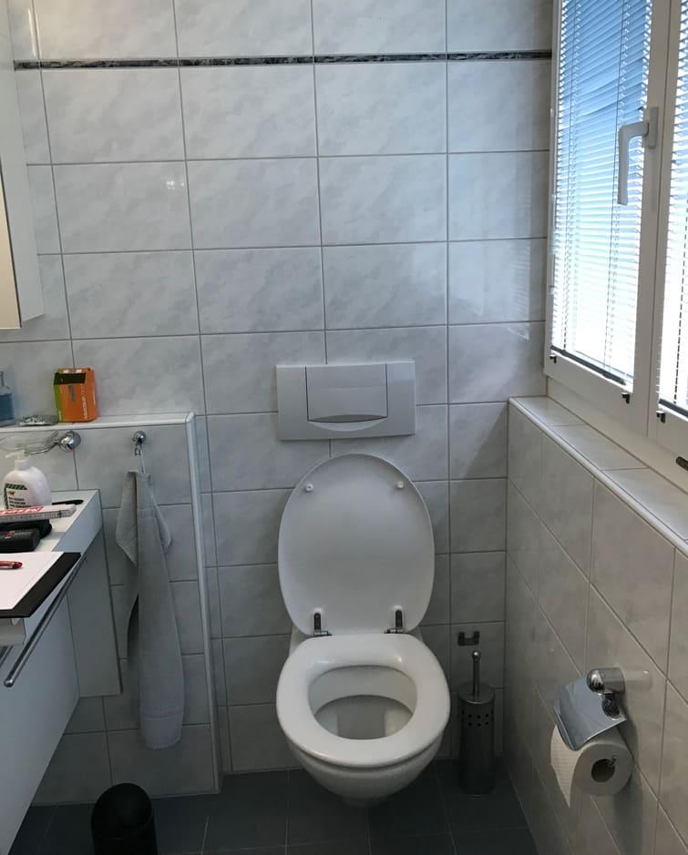 Altes WC Gyger Küchen GmbH