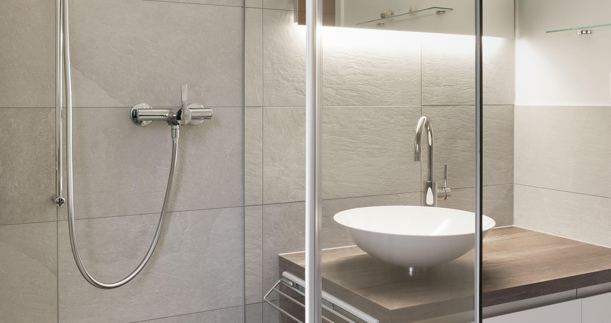 Badezimmer Dusche Schön Gyger Küchen GmbH